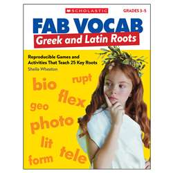 Fab Vocab Greek And Latin Roots, SC-815364