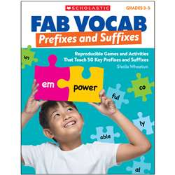 Fab Vocab Prefixes And Suffixes, SC-815365