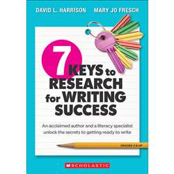 7 Keys Research For Writing Success, SC-815367