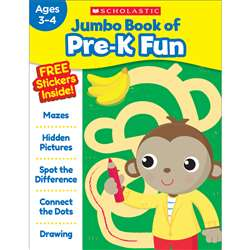 Jumbo Fun Workbooks Prek Fun, SC-816943