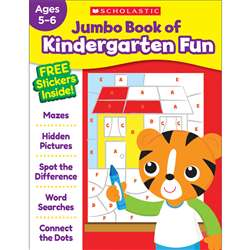 Jumbo Fun Workbook Kindergarten Fun, SC-816944