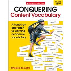 Conquering Content Vocabulary, SC-817434
