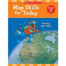 Map Skills For Today Gr 1, SC-821487