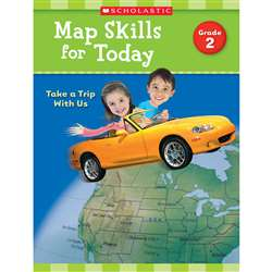 Map Skills For Today Gr 2, SC-821489