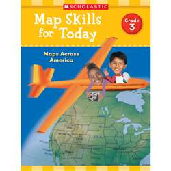 Map Skills For Today Gr 3, SC-821490