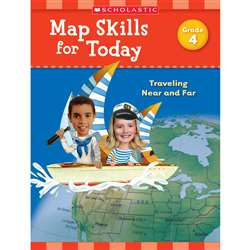 Map Skills For Today Gr 4, SC-821491