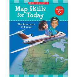 Map Skills For Today Gr 5, SC-821492