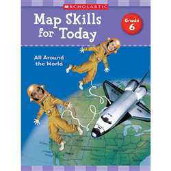 Map Skills For Today Gr 6, SC-821493