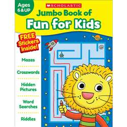Jumbo Fun Workbooks Fun For Kids, SC-821834