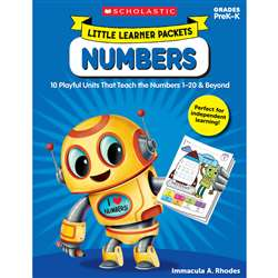 Little Learner Packets Numbers, SC-822829