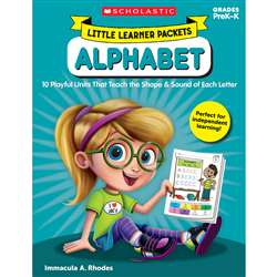 Little Learner Packets Alphabet, SC-823029