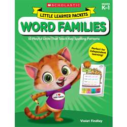 Little Learner Packet Word Families, SC-823030