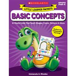 Little Learner Packet Basic Concept, SC-823031