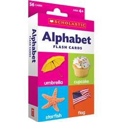 Flash Cards Alphabet, SC-823353
