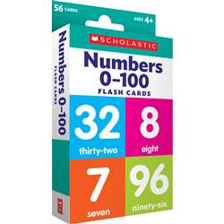 Flash Cards Numbers 0 To 100, SC-823355