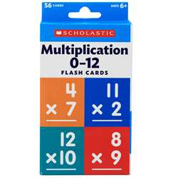 Flash Cards Multiplication 0 To 12, SC-823357