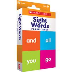 Flash Cards Sight Words, SC-823358