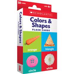 Flash Cards Colors And Shapes, SC-823360