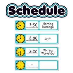 Aqua Oasis Schedule Mini Bulletin Board, SC-823630