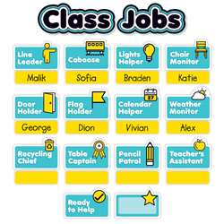 Aqua Oasis Class Jobs Mini Bulletin Board, SC-823633