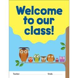 Welcome To Our Class Chart, SC-823642