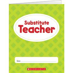 Substitute Teacher Folder, SC-823677