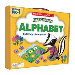 Learning Mats Alphabet, SC-823958