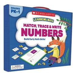Match Trace Write Numbers Learning Mats, SC-823960