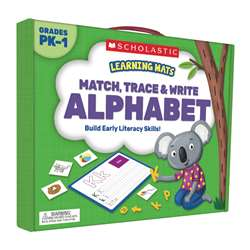 Match Trace And Write The Alphabet Learning Mats, SC-823961