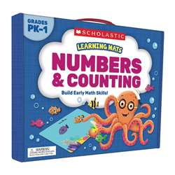 Learning Mats Numbers And Counting, SC-823963