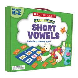 Learning Mats Short Vowels, SC-823965