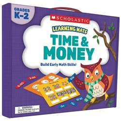 Learning Mats Time And Money, SC-823967