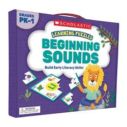 Learning Puzzles Beginning Sounds, SC-823969