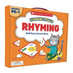 Learning Puzzles Rhyming, SC-823973