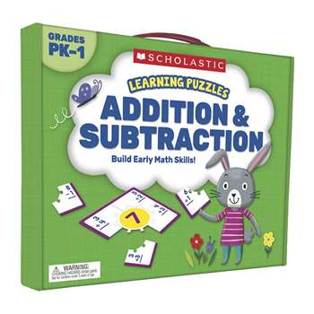 Addition And Subtraction Learning Puzzles, SC-823974