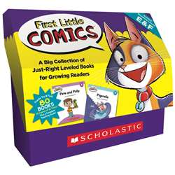 Classroom Set Levels E And F First Little Comics, SC-825520