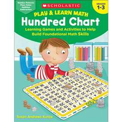 Play & Learn Math Hundred Chart, SC-826474