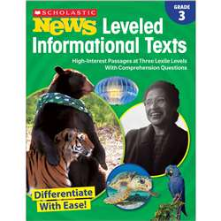 Gr 3 Scholastic News Leveled Info Texts, SC-828473