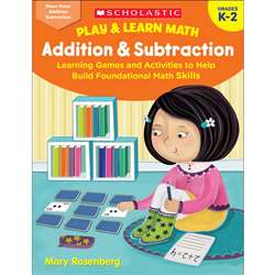 Play & Learn Math Add & Subtraction, SC-831065