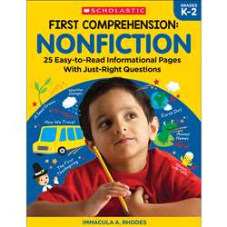 First Comprehension Nonfiction, SC-831432