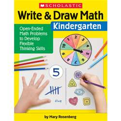 Write & Draw Math Grade K, SC-831436