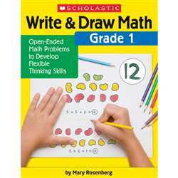 Write & Draw Math Grade 1, SC-831437
