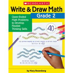 Write & Draw Math Grade 2, SC-831438