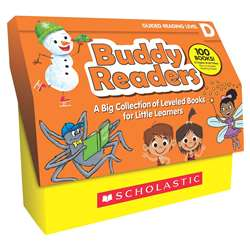 Buddy Readers Classroom Set Level D, SC-831717
