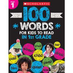 "100 Words For Kids To Read "" Gr 1, SC-832310"