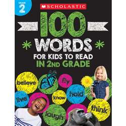 "100 Words For Kids To Read "" Gr 2, SC-832311"