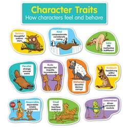 Character Traits Bulletin Board St, SC-834494