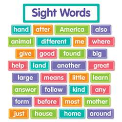 More Sight Words Bulletin Board St, SC-834755