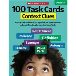 100 Task Cards Context Clues, SC-860317