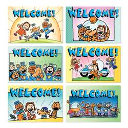 Dog Man Welcome Postcards, SC-862618